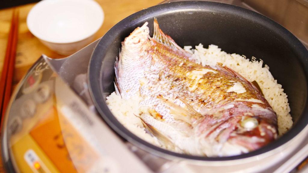 鯛めし炊飯器